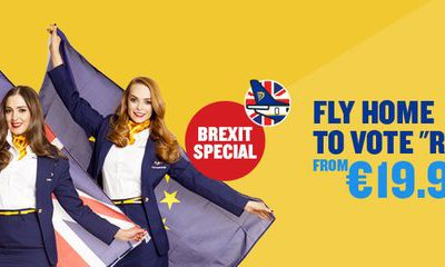 Fly Home to Vote Remain